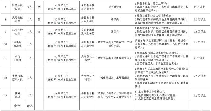 丹阳投资集团有限公司招聘工作人员
